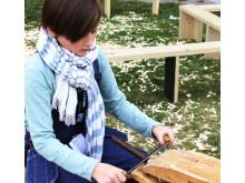 Trä, folk och verktyg - workshop