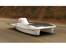 Solcellsbilen på Elmia Polymer