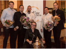 Deltagarna i Coffee Professionals Cup 2014