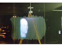 "Blick in die Ausstellung ""I`LL BE YOUR MIRROR. Screen Tests von Andy Warhol"""