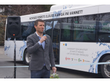 Enovas markedssjef transport, Petter Hersleth
