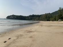 Tomme strender i Thailand
