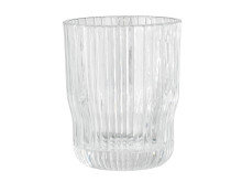 Glass CLAES Ø8xH10cm clear (20 DKK pr stk)