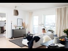 Förstagångsköparna väljer Ikano Bostad.