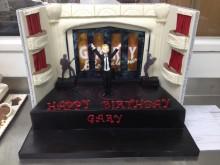 Gary Barlow cake