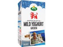 Arla lanserar grekisk yoghurt till frukost och mellanmål