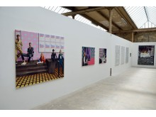 Blick in die 24. Leipziger Jahresausstellung 2017