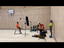 BBC-filming på Torvbråten