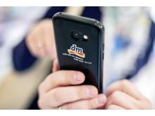 Mitarbeiter-Smartphones bei dm