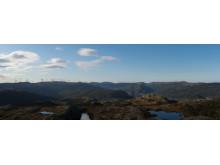 Roan vp fra Skomakerfjellet visualisering 2017