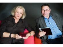 E-Book Krimi-Lesung im Sony Store_Ella Danz und Stephan Haehnel_02