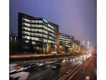 Schneider Electric-hovedkontoret i Paris er et energieffektivt bygg.