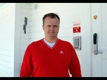 Sikkerhetsekspert Kenneth Hovde Omdal i Verisure