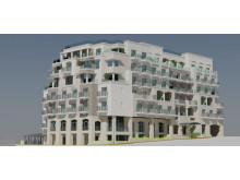 Illustration of the new Maritim Hotel Malta