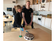 Anette Wästlund och David Andersson