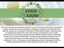 Edda Tribe arrangerar rådsmöte 20-21 juni i Ytterjärna 2020