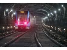 Tunnelbaneunderhåll Strukton Rail