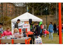 Städdagen i Hagsätra och Rågsved - Tält