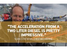 Sean Strevens, Founder/partner of Cheetah Marine