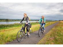 Oderbruch, Oder-Neiße-Radweg, Radfahren, Seenland Oder-Spree, Foto Florian Läufer