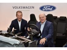 Ford og VW udvider samarbejde