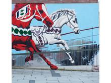 Muralmålning, Sandwalls plats, Borås