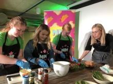 Lunsjkonkurranse 2018 i regi av Sunn ungdomsmat
