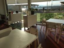 Interiör med utsikt över lekplats, Munksjöstadens förskola