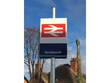 Kenilworth entrance sign