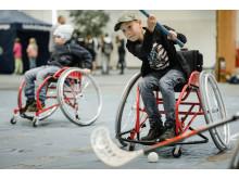 Prova-på Parasport under Sweden Outdoor Festival