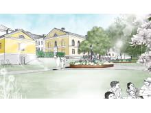 Illustration Frödingsparken