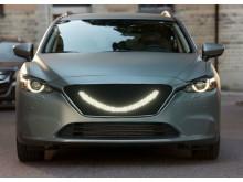 Semcon's concept car – Smiling Car – can be seen at the Auto Trade Fair.