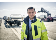 Gothenburg Port Authority Chief Executive Elvir Dzanic.