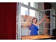 Sandtheater im Central Kabarett Leipzig - Künstlerin Alla Denisova