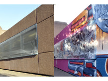 Spende Graffiti am Gero