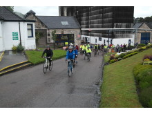 Glen Moray cycle ride