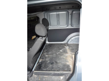 Hide inside VW Caddy van used by couriers - closed