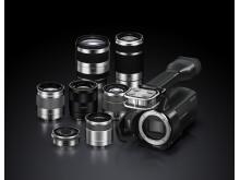 NEX-VG20_with lenses