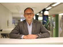 Fredrik Andersson, chef för byggavdelningen, stadsbyggnadskontoret, Göteborgs Stad
