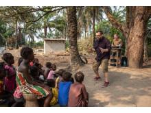 Konsert i Sierra Leone med Klaus Sonstad og Åsmund Flaten