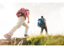 Für jedes Gelände: Maier Sports Outdoorhosen bieten volle Bewegungsfreiheit, hohen Tragekomfort und zuverlässigen Wetterschutz