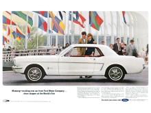 Orders Ford-Mustang reklame