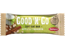 Good'n'Go Soft Oat bar Apple Cinnamon
