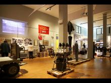 """Blick in die Ausstellung """"WerkStadt Leipzig"""""""