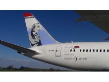 H.C. Andersen på Norwegians Dreamliner