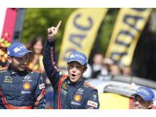 Thierry Neuville og Nicolas Gilsoul, Hyundai Shell World Rally Team