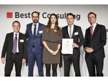 "Preisverleihung ""Best of Consulting"" an IMP"