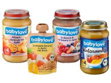 Rückruf vier Artikel der dm-Marke babylove