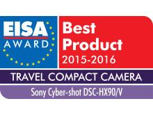 EISA 2015 Logo Cyber-shot DSC-HX90/V