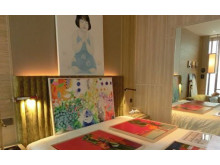 Unique Gallery in A hotel Room Setting